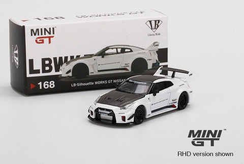 MGT 1:64 Nissan GT-RR LB Works White