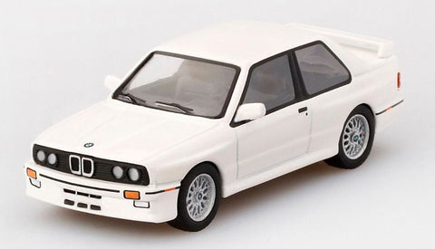 MGT 1:64 BMW M3 (E30) Alpine White