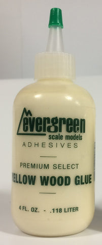Evergreen 4oz Yellow Wood Glue