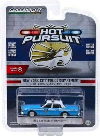 GL 1:64 1980 Chev Caprice NYPD