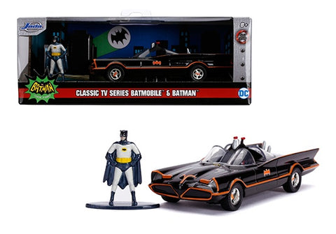 Jada 1:32 Classic TV Series Batmobile & Batman Figure