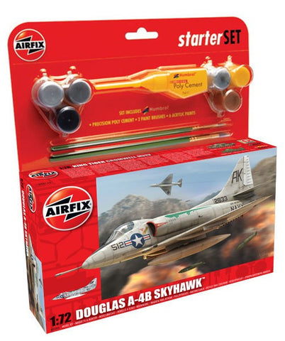 Airfix Med. Start. Set Douglas SkyHaw