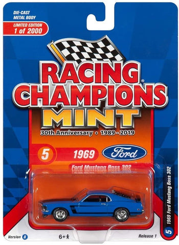 RCM 1:64 1969 Ford Mustang Boss 302