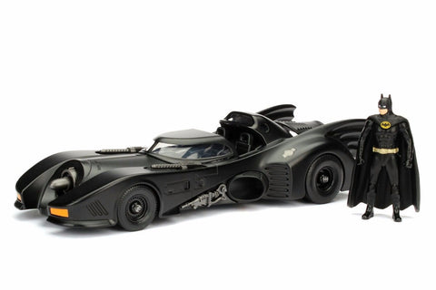 Jada 1:32 1989 Batmobile & Batman Figure
