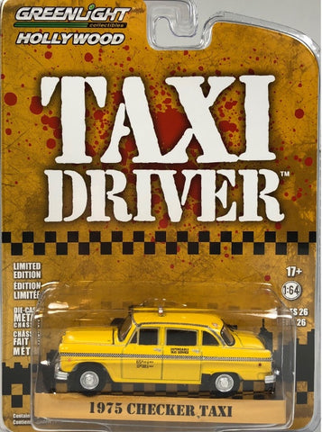 GL 1:64 1975 Checker 'Taxi Driver'