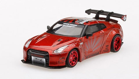 MGT 1:64 GT-R R35 LB Works Candy Red