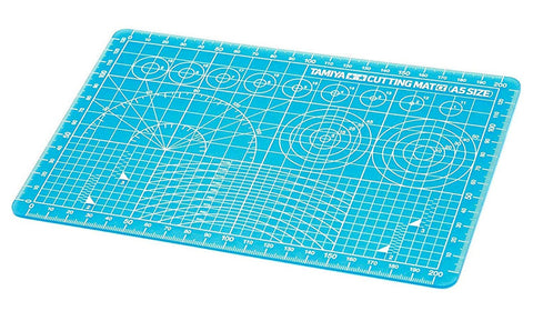 Tamiya Cutting Mat A5 Blue