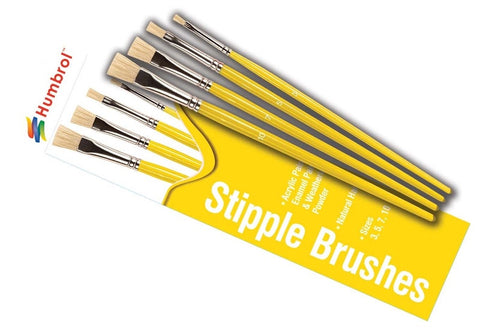Humbrol Stipple Brush Set