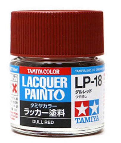 Tamiya Lacquer LP-18 Dull Red
