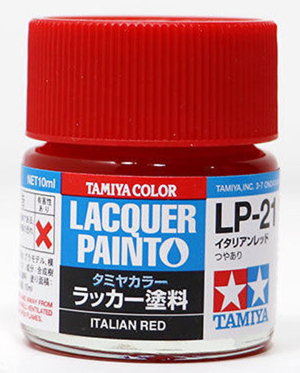 Tamiya Lacquer LP-21 Italian Red