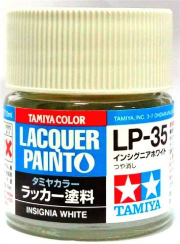 Tamiya Lacquer LP-35 Insignia White