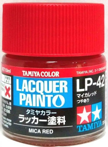 Tamiya Lacquer LP-42 Mica Red