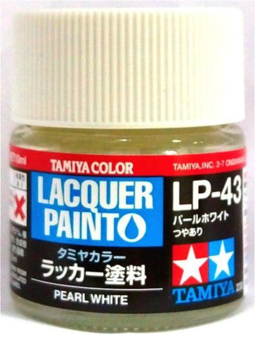 Tamiya Lacquer LP-43 Pearl White