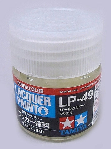 Tamiya Lacquer LP-49 Pearl Clear