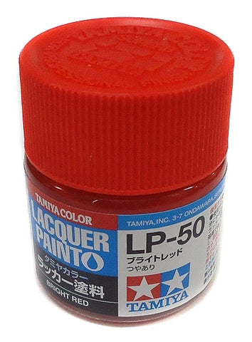 Tamiya Lacquer LP-50 Bright Red