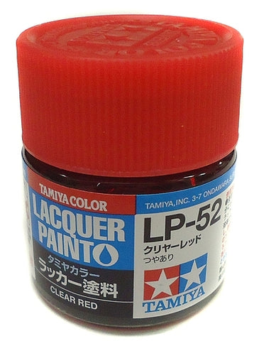 Tamiya Lacquer LP-52 Clear Red