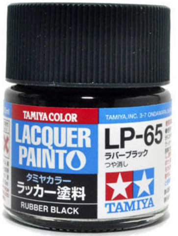Tamiya Lacquer LP-65 Rubber Black