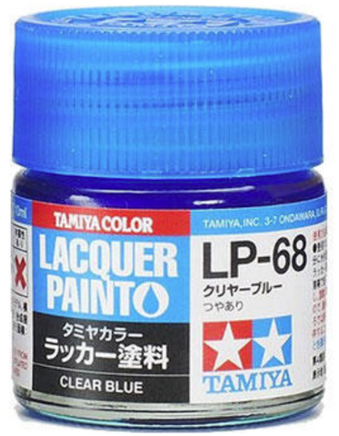 Tamiya Lacquer LP-68 Clear Blue