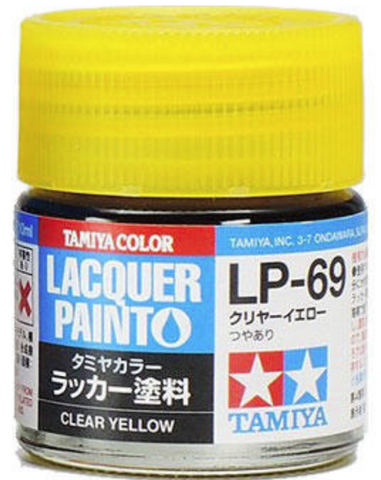 Tamiya Lacquer LP-69 Clear Yellow