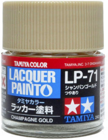 Tamiya Lacquer LP-71 Champagne Gold