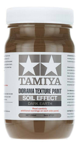 Tamiya 250Ml Texture Paint Soil- Dark Ea