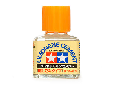 Tamiya Limonere Thin Cement 40ml (Low To