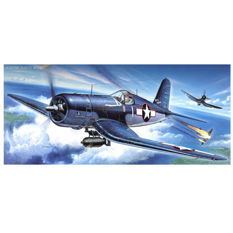 Academy 1/72 F4U-1 US Navy Fighter