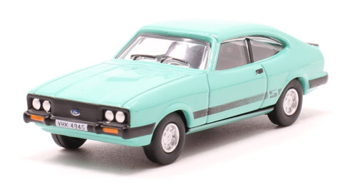 Oxford 1:76 Ford Capri Mk. 3 Peppermint Sea Green