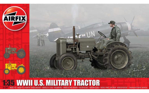 Airfix 1:35 WWII US Military Tractor