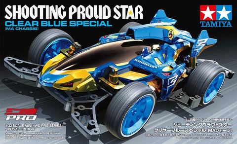 Tamiya Mini 4WD Shooting Proud Star Clear Blue Special