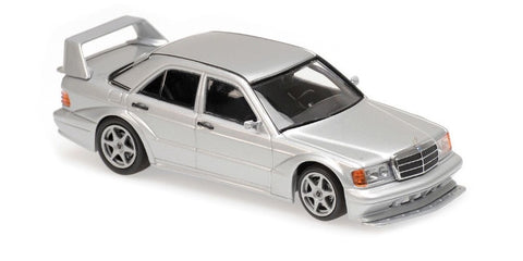 MC 1:43 1990 Mercedes-Benz 190E 2.5-16 EVO 2 Silver