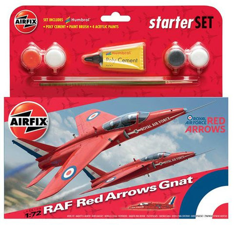 Airfix Small Starter Set Red Arrow Gnat