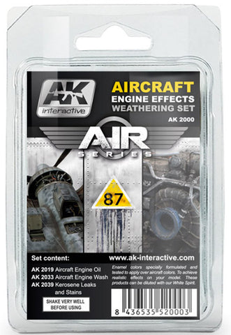 AKI A/C Engine Effects Weathering Set