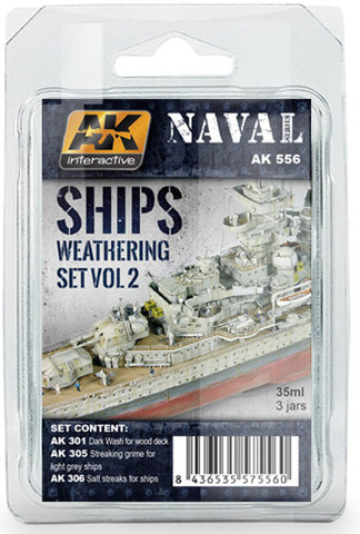 AKI Ships Weathering Set 2
