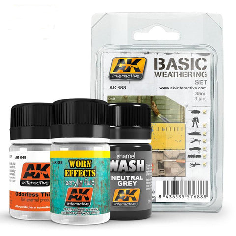 AKI Basic Weathering Set