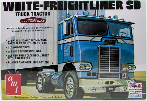 AMT 1/25 White Freightliner SD Tractor