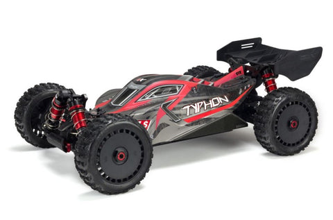 Arrma Typhon 1:8 6S 4WD Buggy BLK/RED