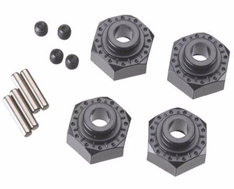 Axial 12mm Aluminium Hub (Black)