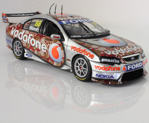 CC 1:18 2008 Falcon Whincup Red Dust