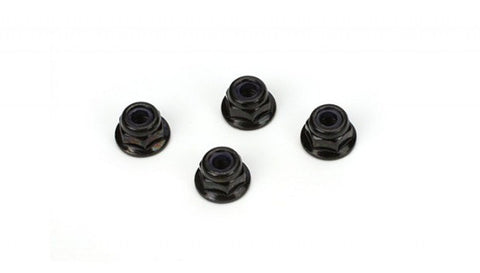 ECX 4mm Flanged Wheel Nuts (4)