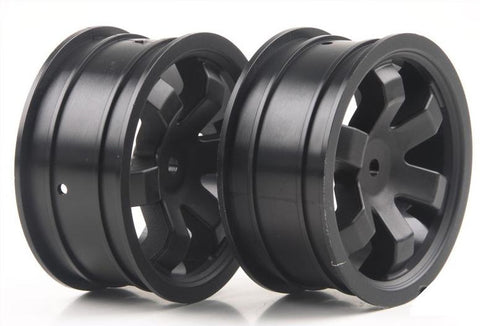 Kyosho Kobra Wheels Black Front (2)