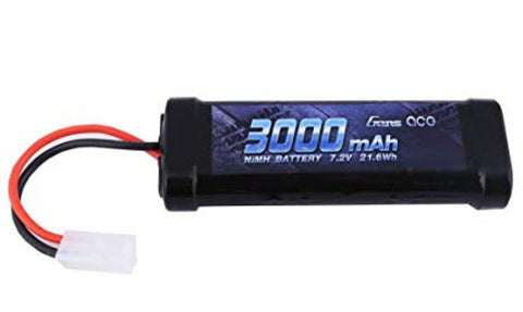 Gens Ace 3000mah 7.2V NIMH Battery