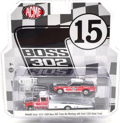 ACME 1:64 Ford F-350 Ramp w/ Parnelli Jo