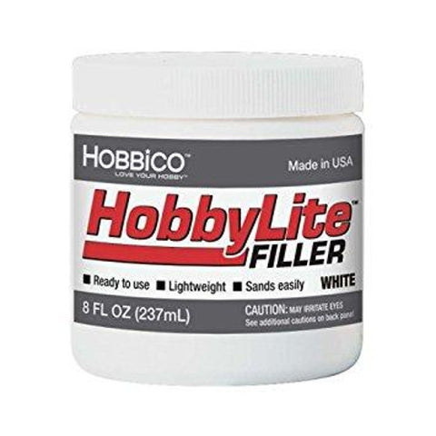Hobbylite Filler-8Oz-White