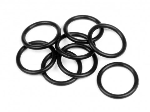 Hot Bodies O-Ring 1.8x12.4mm/Black/ (8)