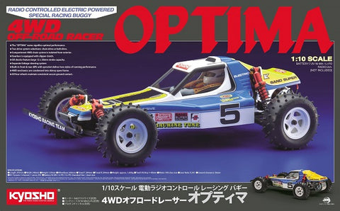 Kyosho Optima Retro 1:10 EP Buggy