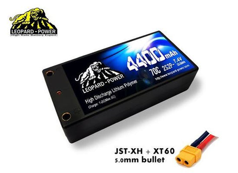 LP 4400mah 2S 70C Shorty Lipo Battery