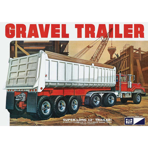 MPC 1:25 Gravel Trailer