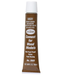 Testors Balsa Cement Fuel Proof 18ml