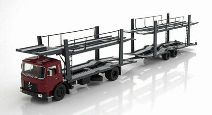 ixo 1:43 1970 MAN F7 with Car Transporter Trailer